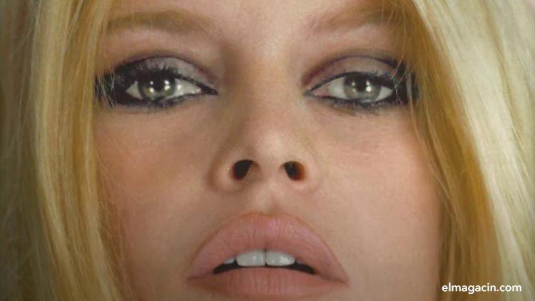 Brigitte Bardot. El mayor sex symbol francés de los años 50. El Magacín. Mujeres guapas.