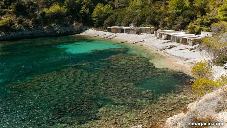 Cala Llentrisca. Playas escondidas de Ibiza