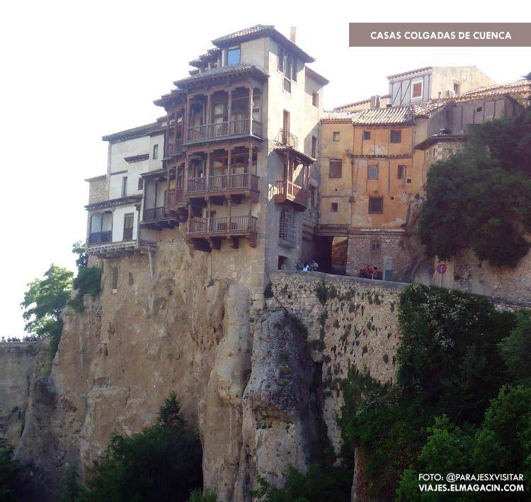 Casas colgadas de Cuenca. El Magacín.