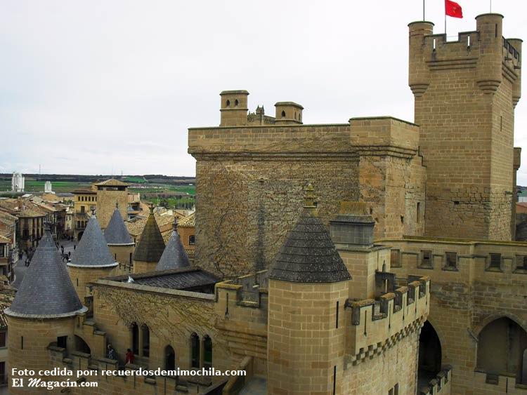 Castillo de Olite. el Magacín.