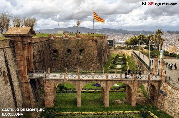 Castillo de Montjuic en Barcelona. El Magacín.