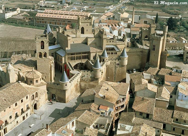 Castillo de Olite en Navarra.