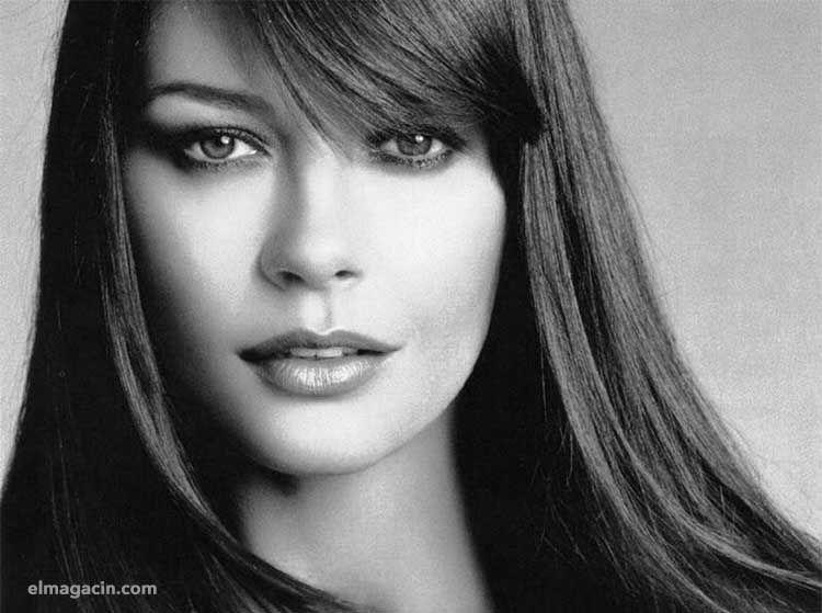 Catherine Zeta Jones joven.