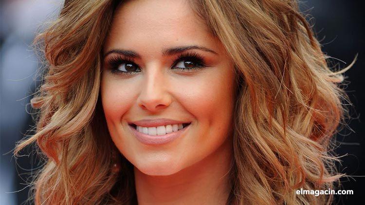 Cantante británica Cheryl Cole. Mujer guapa de Inglaterra.