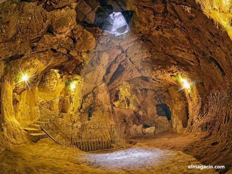 Ciudad subterránea de Derinkuyu, Turquía