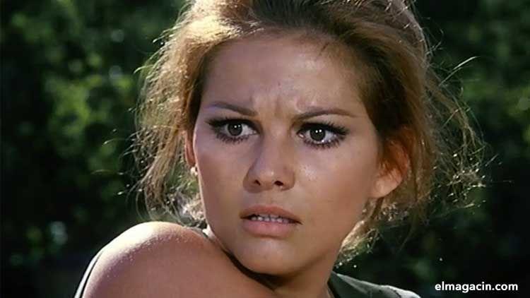 Claude Joséphine Rose Cardinale. Mujer más guapa de Túnez.