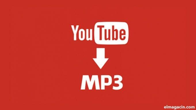 Cómo convertir vídeos de YouTube en audio mp3, mp4 o AVI