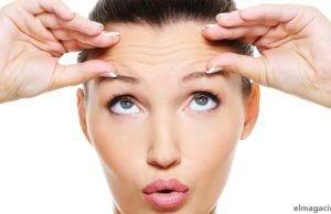 Cómo quitar las arrugas en la frente