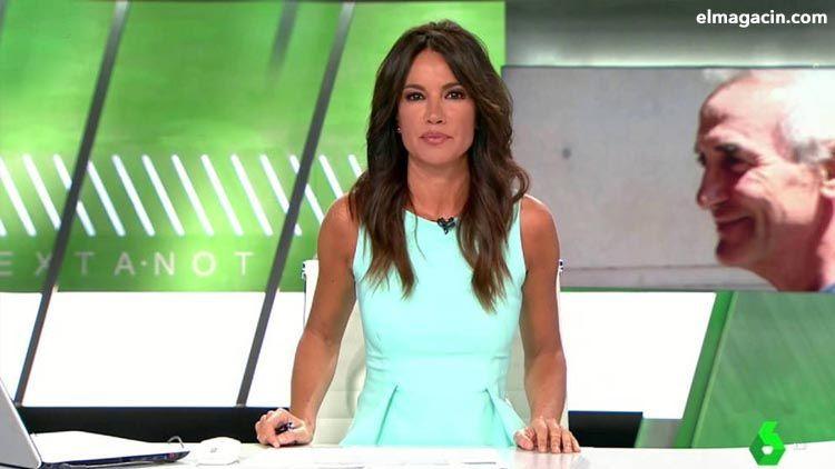 La guapa Cristina Saavedra