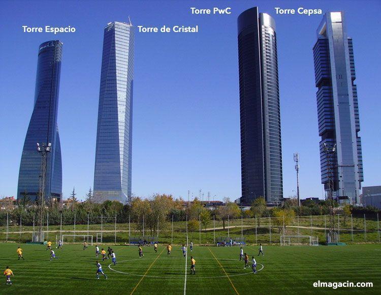 Cuatro Torres Business Area. El Magacín.