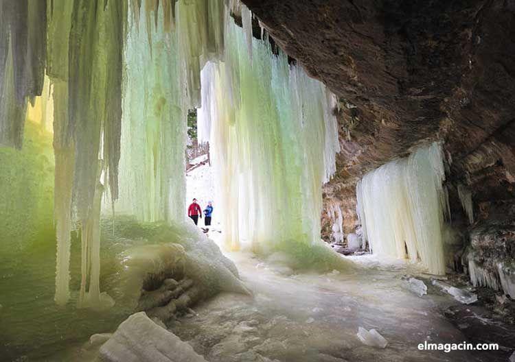 Cueva Eisriesenwelt de Werfen (Austria)