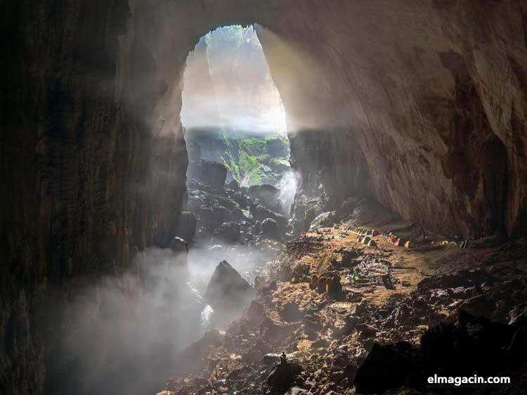 Cueva de Son Doong. La cueva más grande del mundo.