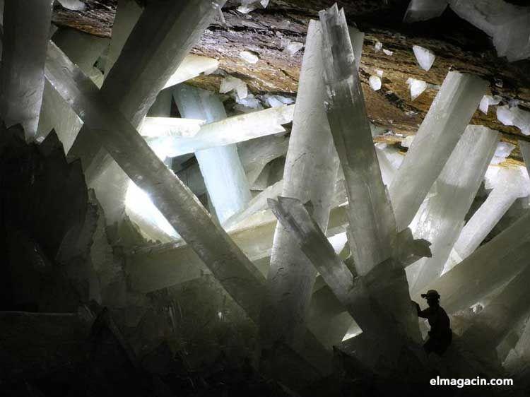 Cueva de los Cristales de Chihuahua, México