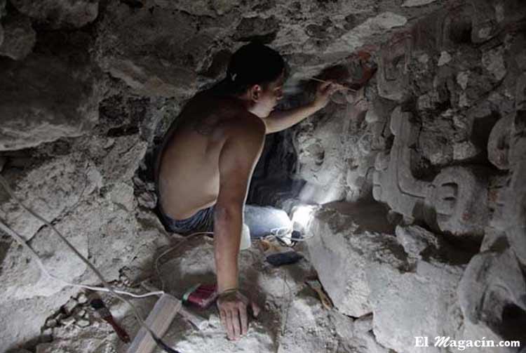 Arqueología en El Magacín