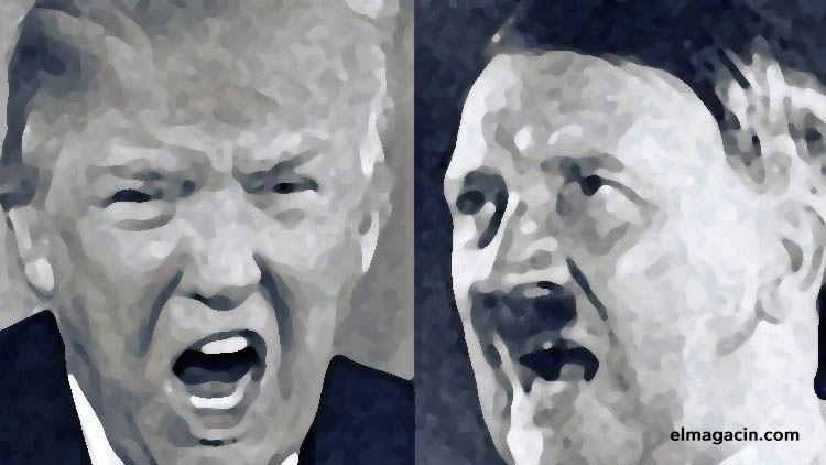 Donald Trump y Adolf Hitler. El Magacín.