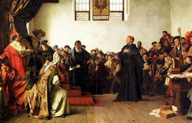 Edicto de Worms firmado el 17 de diciembre de 1520