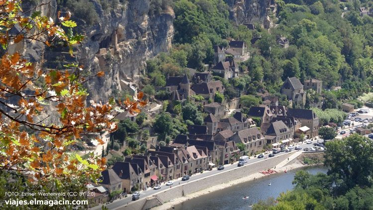 El Magacín. Vistas Dordogne
