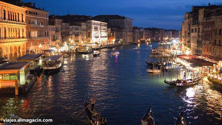El Magacín. Gran Canal de Venecia