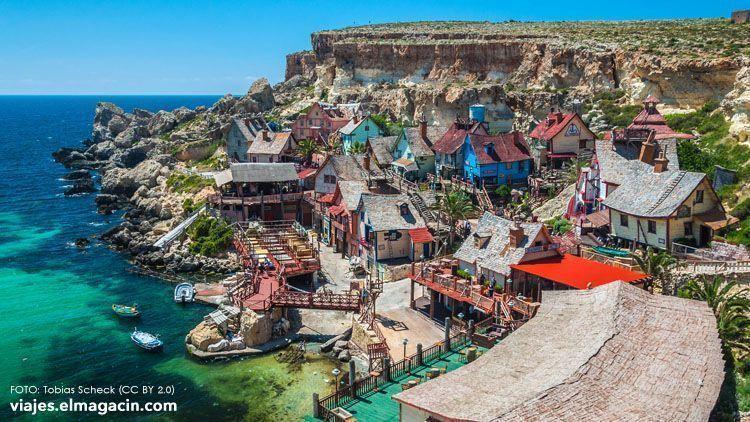 El Magacín. Popeye Village Malta