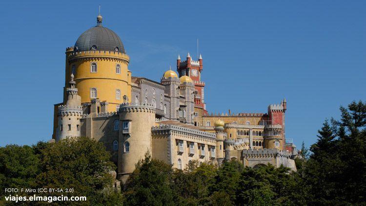 El Magacín. Palacio de Pena en Sintra