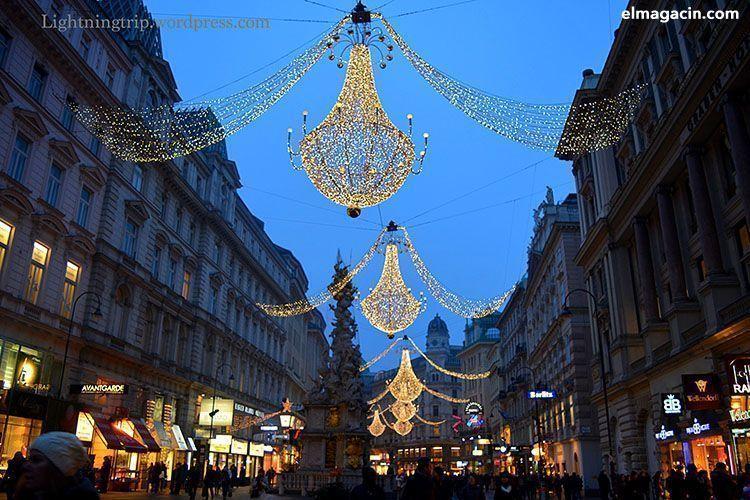 Luces de Navidad en Viena