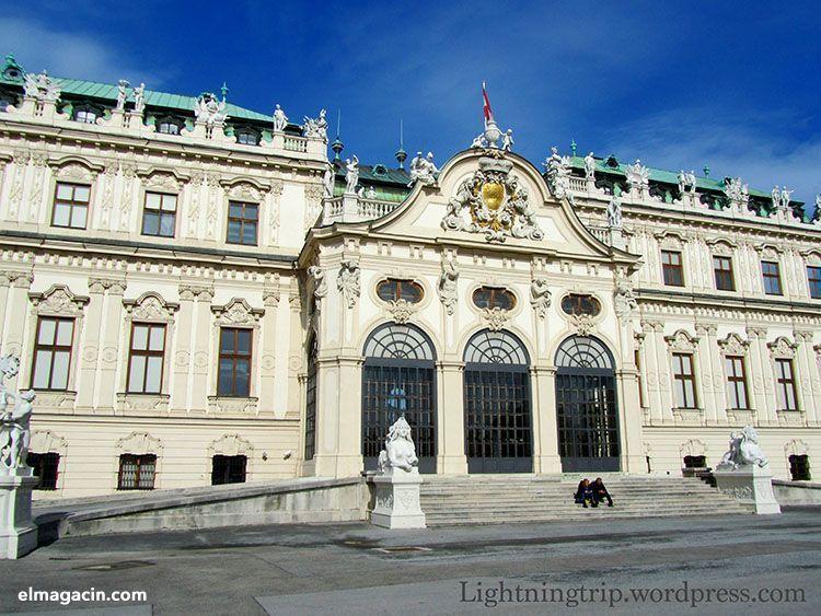 Palacio Belvedere en Viena. El Magacín.
