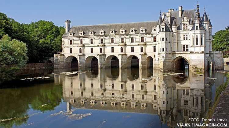 Castillo de Chenonceau - Valle Loira