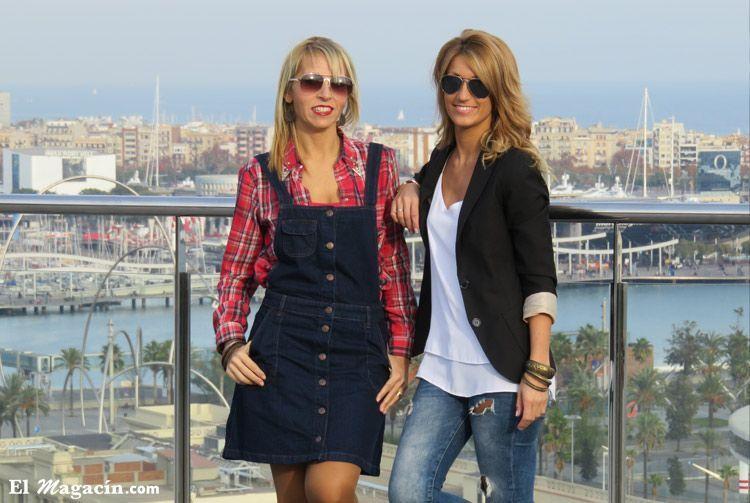 Foto: El Magacín. Raquel y Gisela.