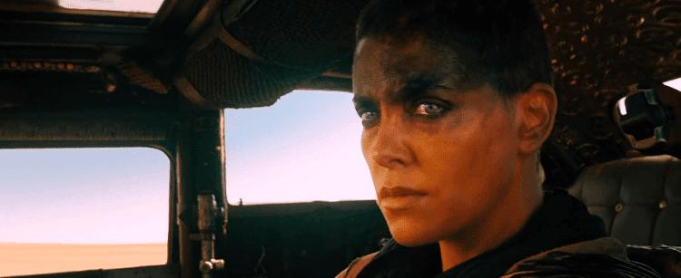 Charlize Theron en Mad Max. Furia en la carretera.