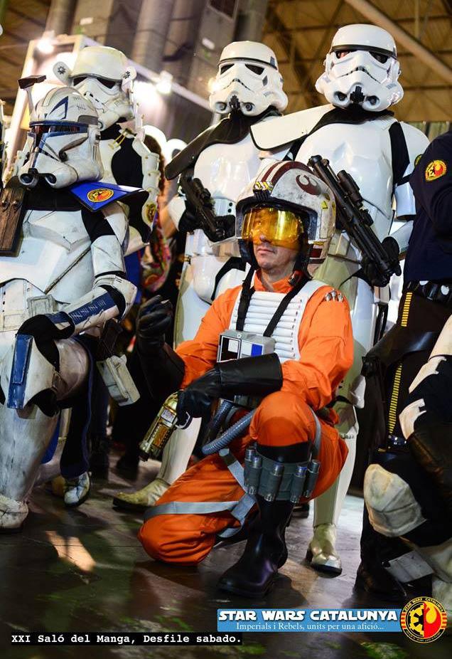 Miembros de la asociación Star Wars Cataluña