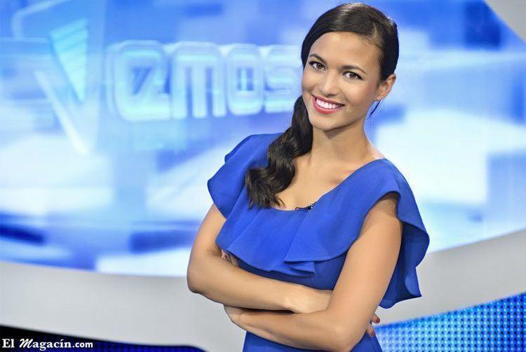 Guapa presentadora española. Chicas guapas.