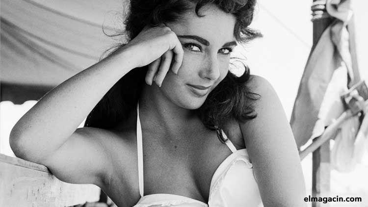 Elizabeth Rosemond Taylor. Actriz bella de Londres. Mujeres guapas.