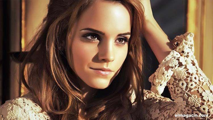 Emma Watson, la bella actriz. El Magacín.