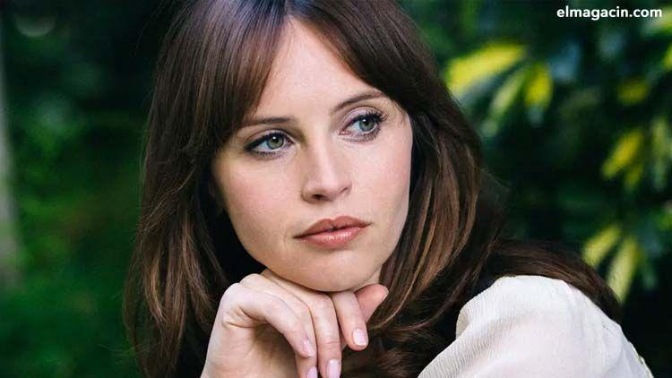 Felicity Jones, actriz de star Wars. El Magacín. Mujeres guapas.