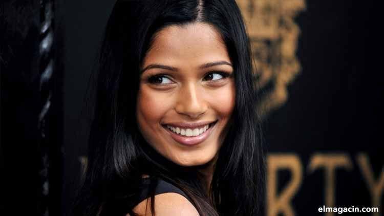 Freida Pinto, actriz india. El Magacín.