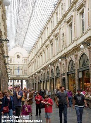 Las Galerías Reales Saint-Hubert de Bruselas. El Magacín.