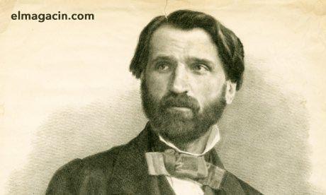 Giuseppe Verdi en 1842. El Magacín.
