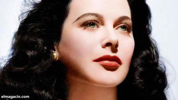 Hedy Lamarr, actriz. El Magacín.