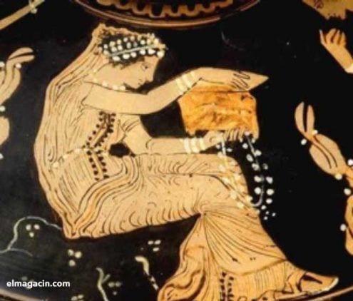 """En su libro """"Heroines and hysterics"""", Mary Lefkowitz( Ediciones Publisher, Duckworth 1981), reflexiona sobre este asunto y entiende el inmenso temor que provocaba en los varones griegos el misterio de la feminidad. Por eso en sus mitos se identificaría a la mujer como un laberinto."""