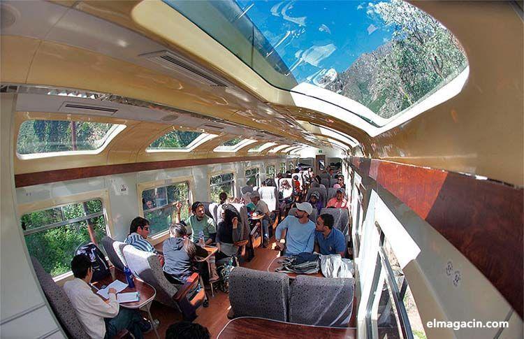 Hiram Bingham, el tren a Machu Picchu. El Magacín.