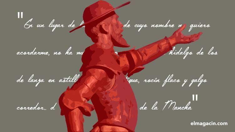Miguel de Cervantes. El Magacín.
