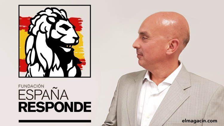 Jose Manuel Opazo, presidente de la fundación España Responde. El Magacín.