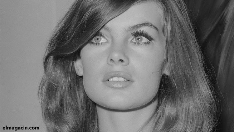 Jean Shrimpton. La primera super modelo. El Magacín. Chica preciosa.