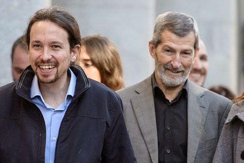 Pablo Iglesias y Jose Júlio Rodríguez