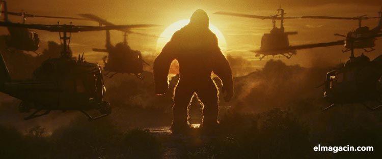La isla calavera de King Kong. El Magacín.