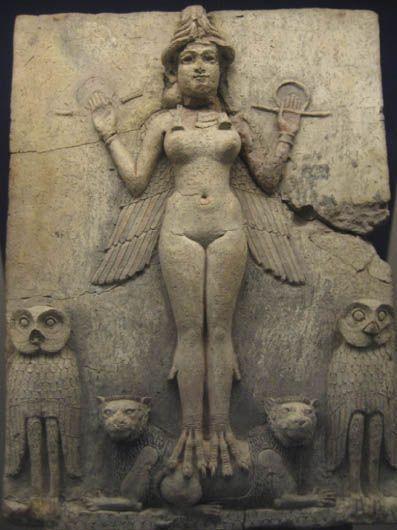 La misteriosa Lilith es un demonio sexual.