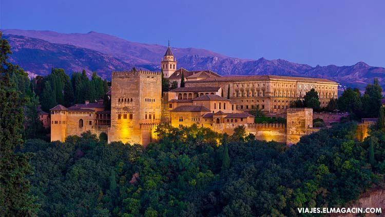 La Alhambra, rincones de España. El Magacín.