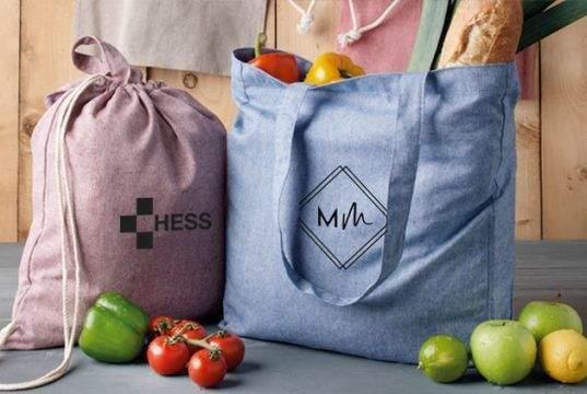 Las bolsas personalizadas como regalo promocional para clientes y trabajadores