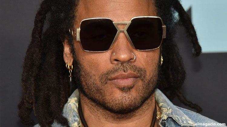 Lenny Kravitz. Uno de los cantantes hombres guapos mayores de 50 años.