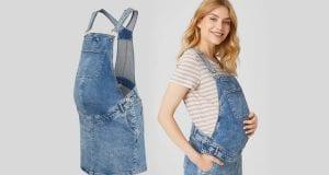 Los vestidos perfectos para embarazadas para verano tardío